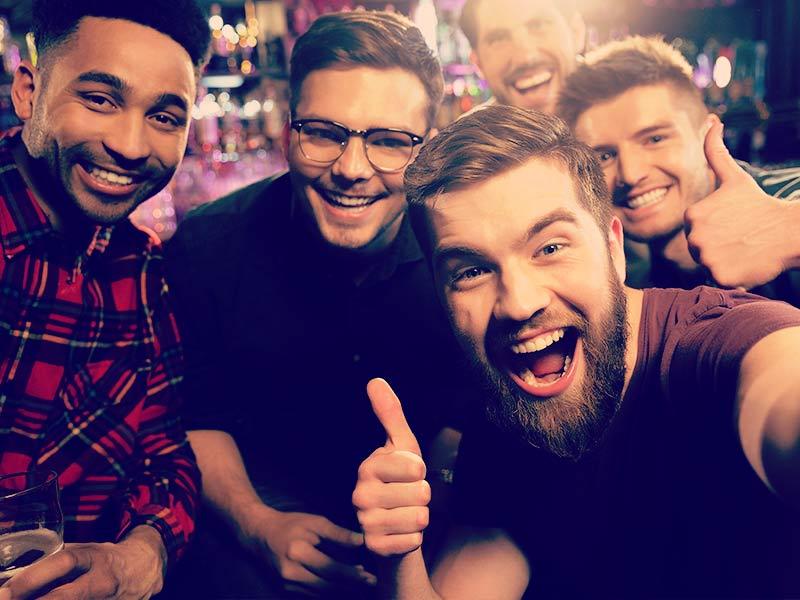 Guided Prague Night Bar Crawl inc Nightclub, Lap Dance Entry and Drinks in Prague