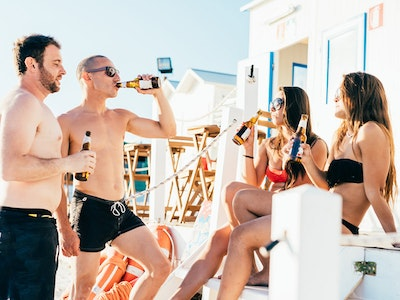 Beach Bar Day Experience in Marbella