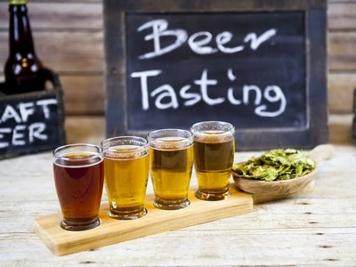 Beer Tasting with Deluxe Sides in York