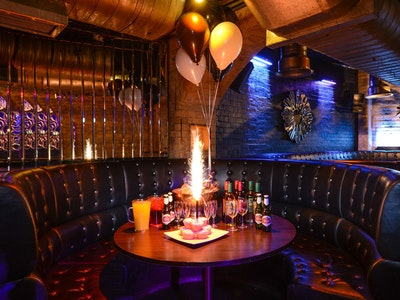 VIP Booth Package Incl. Two Bottles of Spirts, Mixers & Sharer Cocktail at Rhum in Liverpool