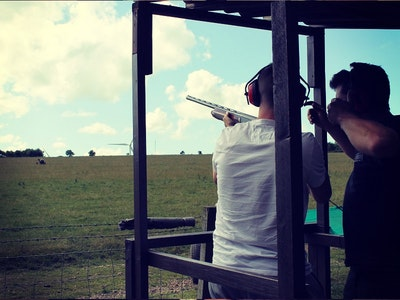Clay Pigeon Shooting, Archery, Blind Driving & Axe Throwing in London