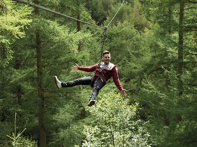 Go Ape High Ropes Experience in Nottingham