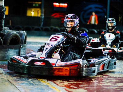 Indoor Go-Karting Experience Inc Tranfers in Madrid