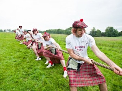 Mini Highland Games Experience in Edinburgh