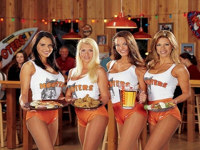 Two Course Dinner at Hooters in Prague