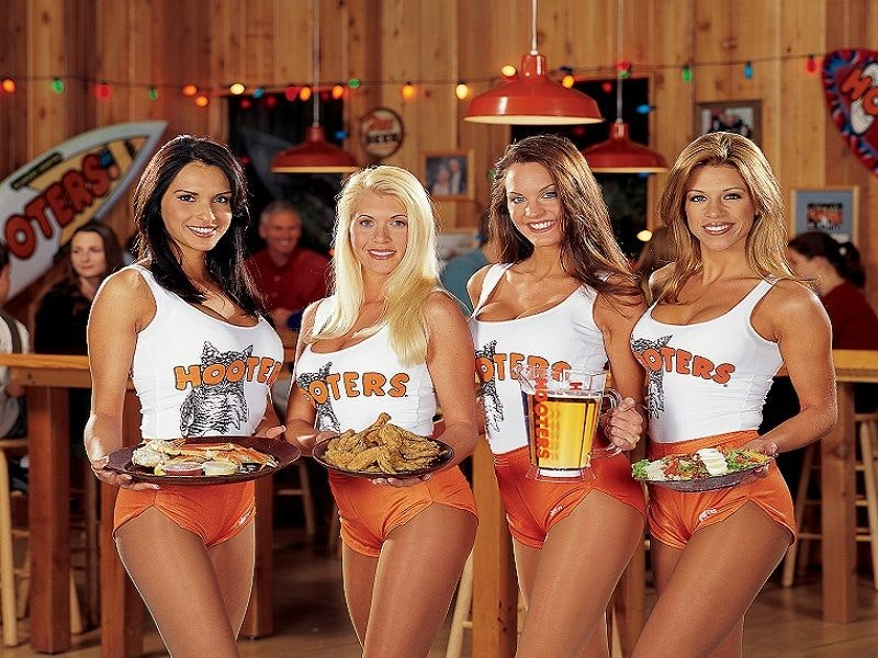 hooters Nottingham stag do