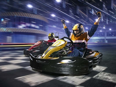 Indoor Go-Karting - Open Team Race in Liverpool