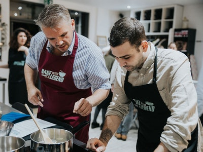 Bake With a Legend in Brighton