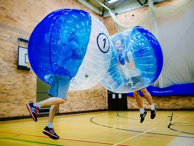 Bubble Football in Blackpool