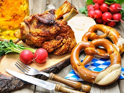 Bavarian Feast in Hamburg
