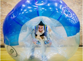 Bubble Football and Binocular Football Experience in London