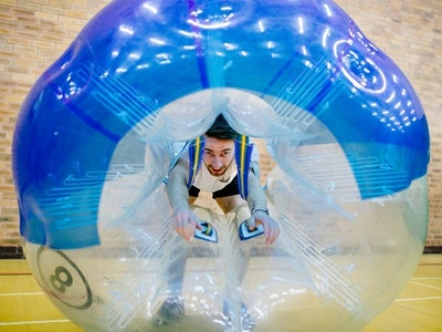 Bubble Football and Binocular Football Experience in Cambridge