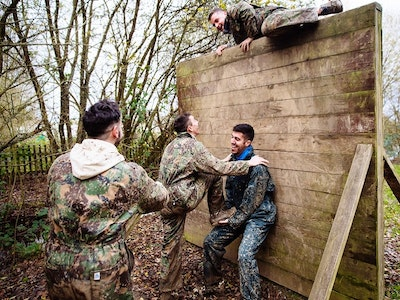 Assault Course Experience in Nottingham