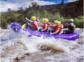 Whitewater Tubing With Cliff Jumping and Gorge Walking w Lunch in Newcastle