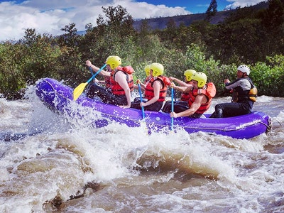 White Water Rafting Saturday Session in Snowdonia