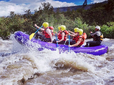 Whitewater Rafting Experience in Nottingham