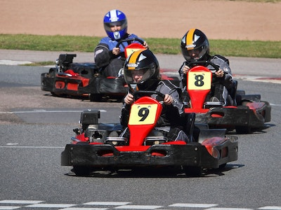 Outdoor Go-Karting Experience in Oxford