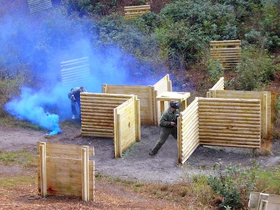 Half Day Paintballing Experience with 100 Paintballs in Bournemouth