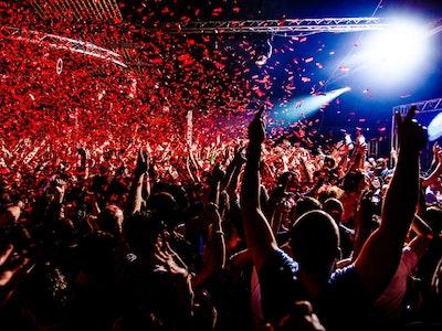 Superclub Entrance in Ibiza