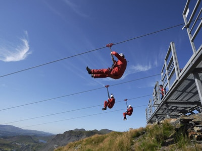 Zip World Titan in Snowdonia