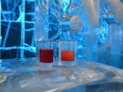 Ice Bar in Budapest