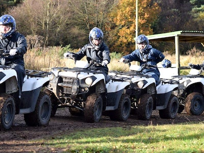 Quad Biking & Clay Pigeon Shooting Experience in Bristol