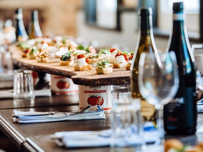Two Course Meal Incl. Prosecco at Jamies Italian in Glasgow