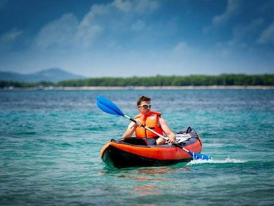 Sea Kayaking and Paddle Boarding (Sandbanks) in Bournemouth