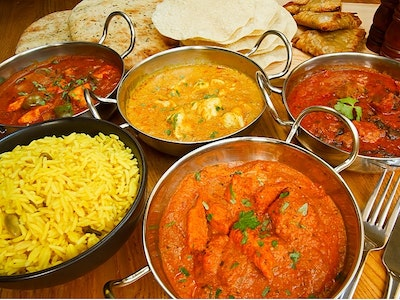Two Course Indian Meal in Nottingham