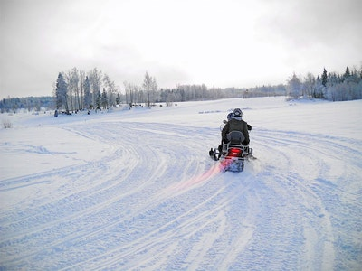 Snowmobile Safari in Riga