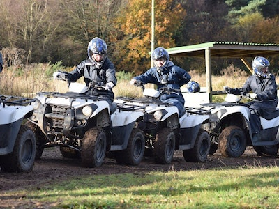 Clays and Quad Biking Experience in Chester