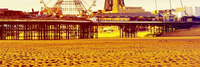 Blackpool Pleasure Beach Stag Weekend Package