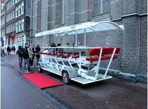 Amsterdam Limo Beer Bike Stag Weekend Package