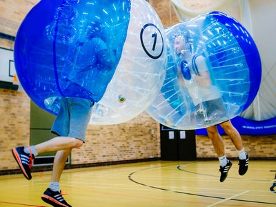 Cardiff Bubble Football Stag Weekend Package
