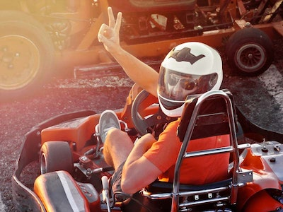 Madrid Go-Karting & Clubbing Stag Party Package