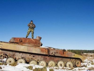 Leeds Mini Tank Driving Stag Weekend Package*
