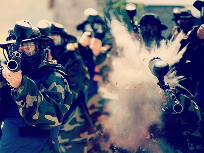 Madrid Paintball & Clubbing Stag Party Package