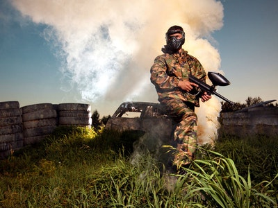 Prague Paintball & Lap Dancing Package
