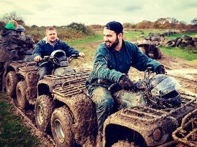Cardiff Quad Biking Stag Weekend Package