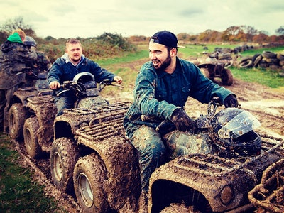 Chester Quad Biking Stag Weekend Package