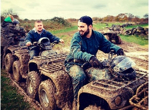 Leeds Quad Biking Stag Weekend Package