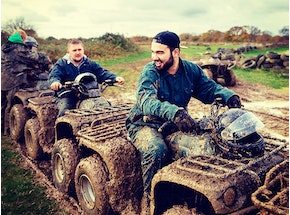 Glasgow Quad Biking Stag Weekend Package