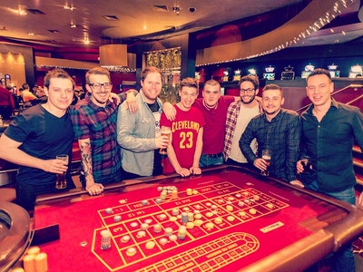 Cardiff High Rollers Stag Weekend Package