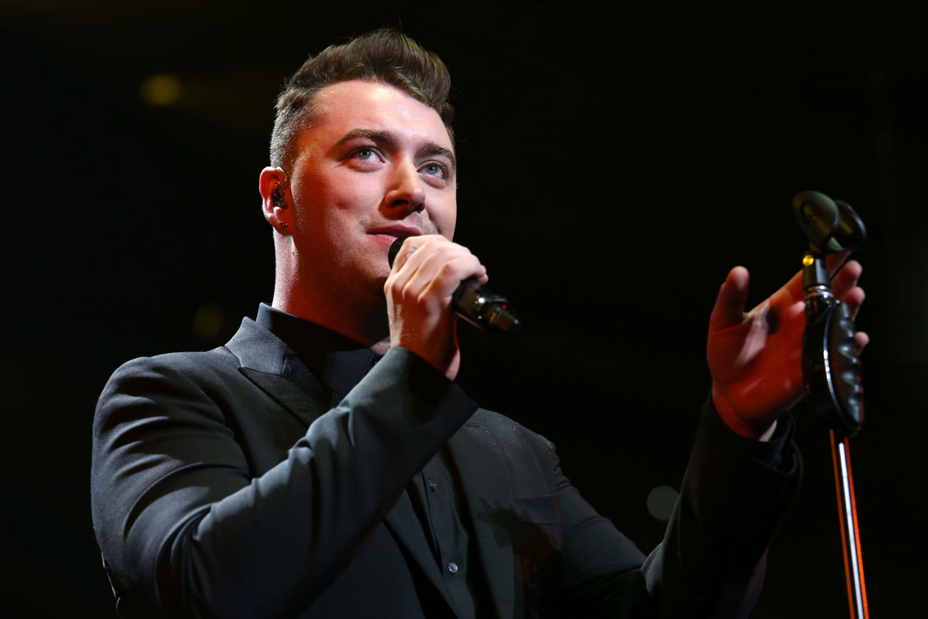 Sam Smith Raids Benidorm For Dad's Stag Do