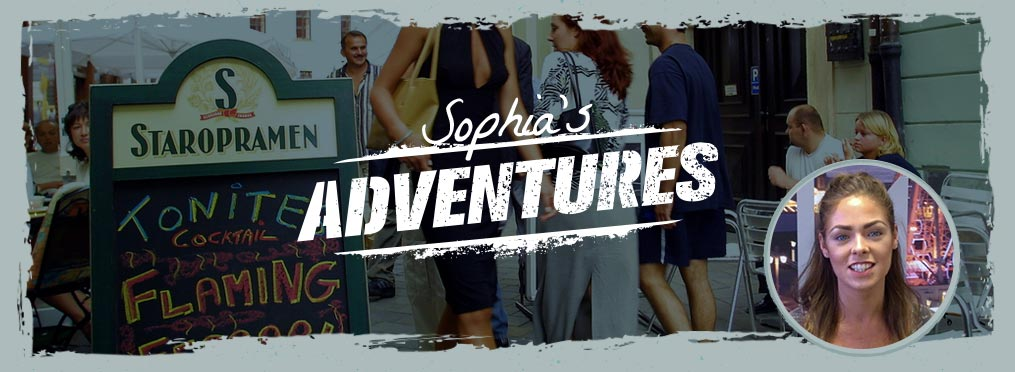 Sophia's adventures in Bratislava - Night Club Entry, Strip Club and White Water Rafting